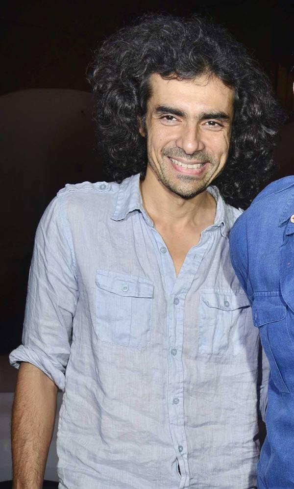 Imtiaz Ali Smiling During Cocktail Movie Success Bash