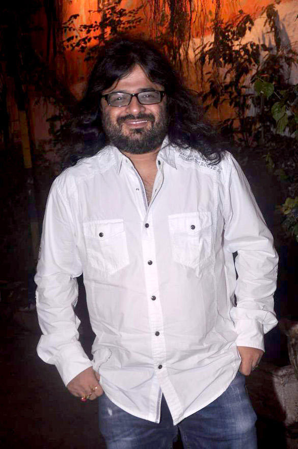 Pritam Chakraborty Smiling During Cocktail Movie Success Bash