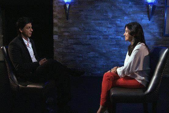 Superstar Shahrukh Khan in Conversation With Anupama Chopra on The Front Row