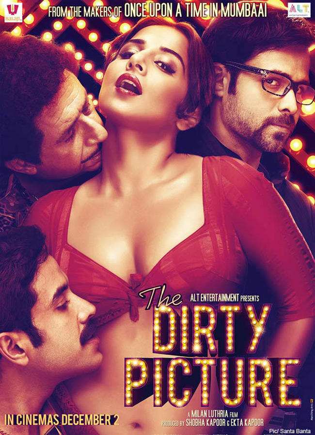 Dirty Picture Bold Poster