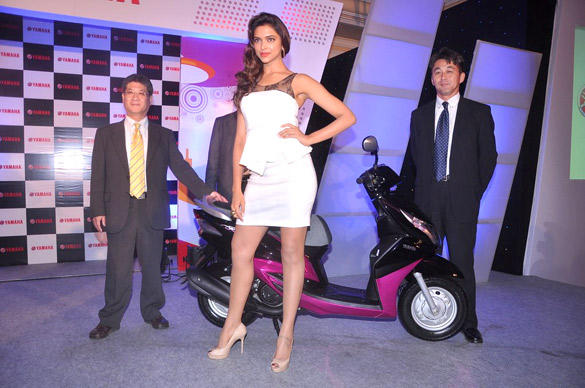 Deepika Padukone Attended a Yamaha Ray Scooter Event