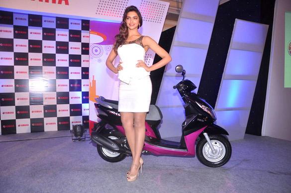 Deepika Padukone to Endorse Yamaha Scooters in India