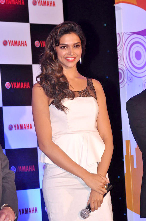 Gorgeous Deepika Padukone at the Launch of Yamaha Ray Scooter