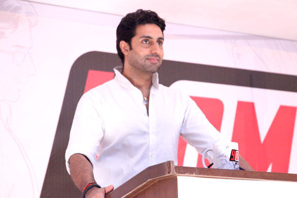 Abhishek Bachchan at The Launch Of Yomics
