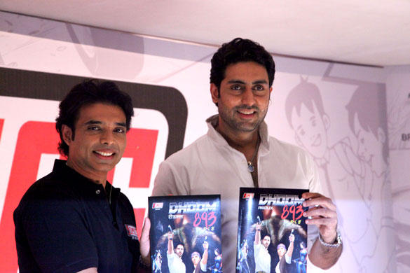 Abhishek Bachchan Launched Uday Chopra's New Label of Comic Books Yomics
