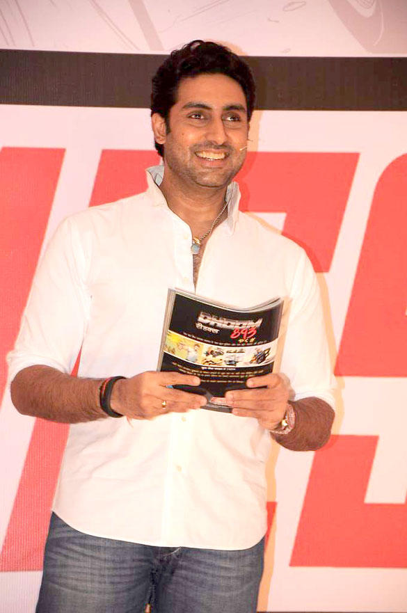 Abhishek Launches New Label of Comic Books Yomics