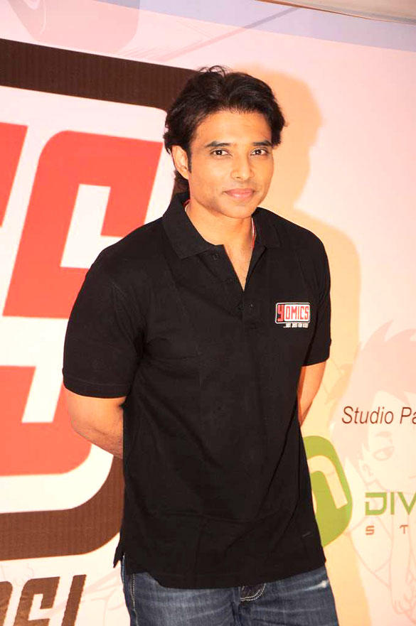 Uday Chopra Nice Look During The Launch Yomics