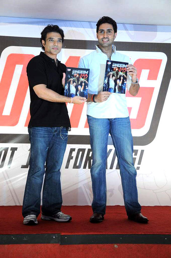 Yomics Launch By Abhishek Bachchan and Uday Chopra