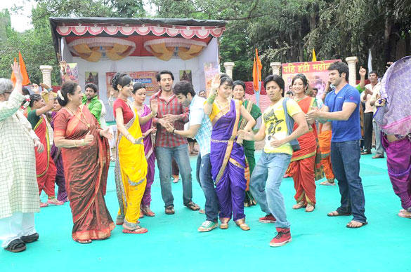 Pavitra Rishta Team and KSKHH Cast Dance Crazily On The Sets Of Pavitra Rishta
