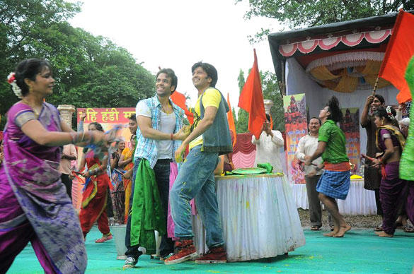 Tusshar and Riteish Promote Their Upcoming Film KSKHH On The Sets Of Pavitra Rishta