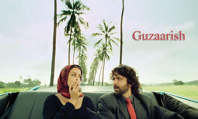 Aishwarya Rai Smoking Still In Guzaarish Poster