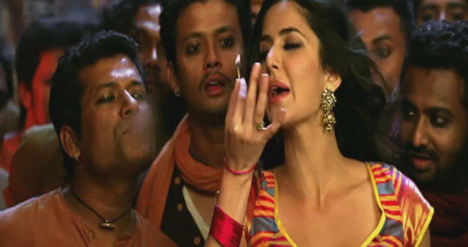Cigarettes Displayed in the Chinki Chameli Item Song From Agneepath
