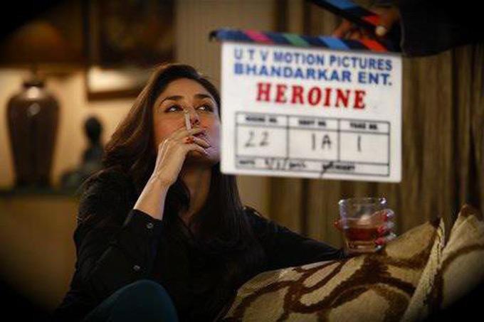 Heroine Movie Kareena Kapoor Smoking Still