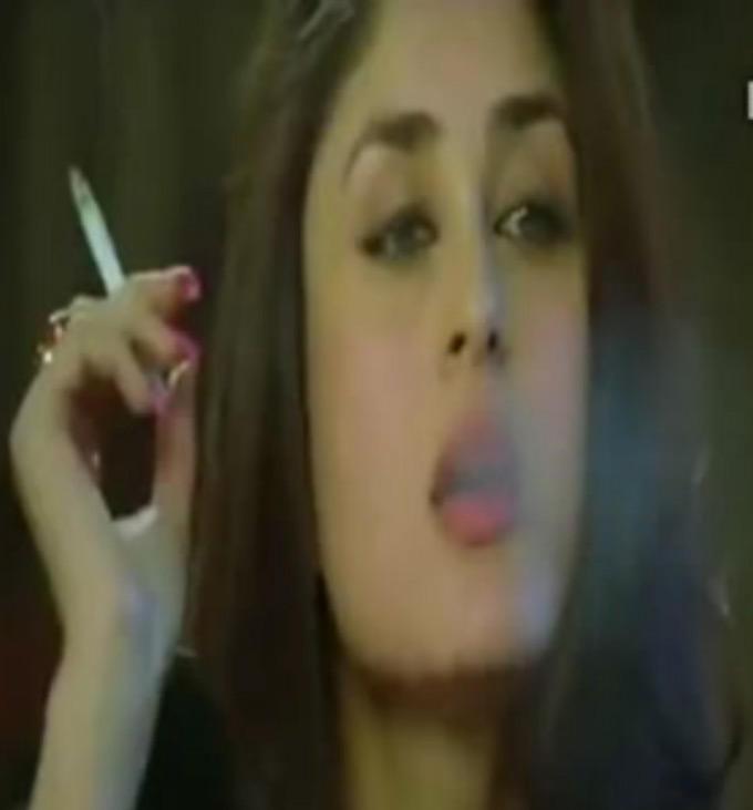 Kareena in a Smoking Still From Heroine