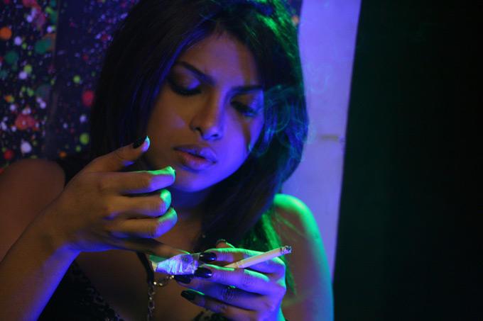 Priyanka Smoking Still In Madhur Bhandarkar's Fashion Movie