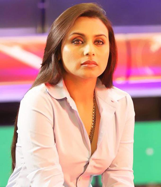 Rani Mukherjee's Plays Smoking Act in No One Killed Jessica
