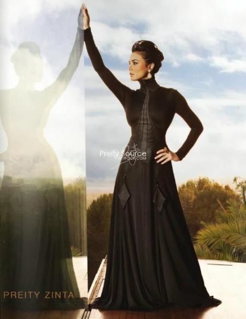 Preity Zinta's Photoshoot By Ashutosh Gupta For Ishkq In Paris