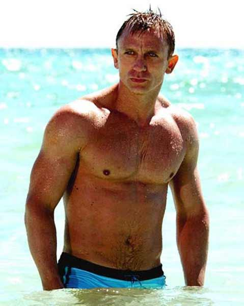 Bond Star Daniel Craig Was Fourth With 5 Percent of The Votes