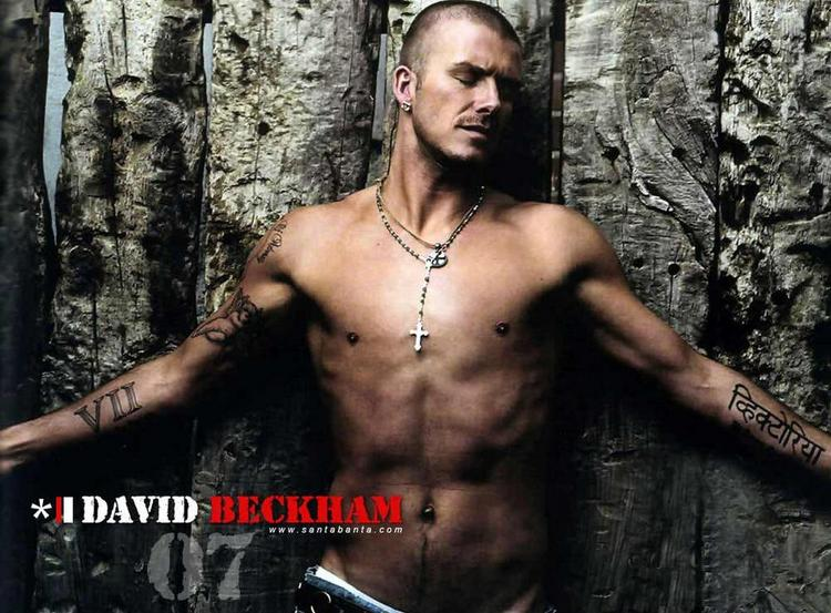 David Beckham Took The Top Spot For Having The Buffest Beach Body in the World With 23 Percent of Votes