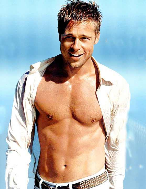Hollywood Star Brad Pitt Came Second With 13 Percent Votes