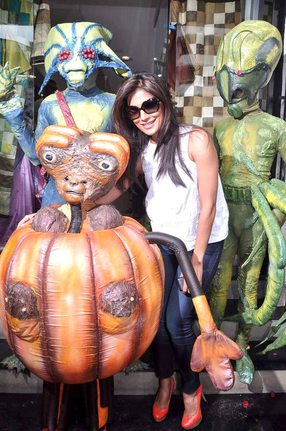 Chitrangada Singh Promote Joker With Aliens At A Store Launch