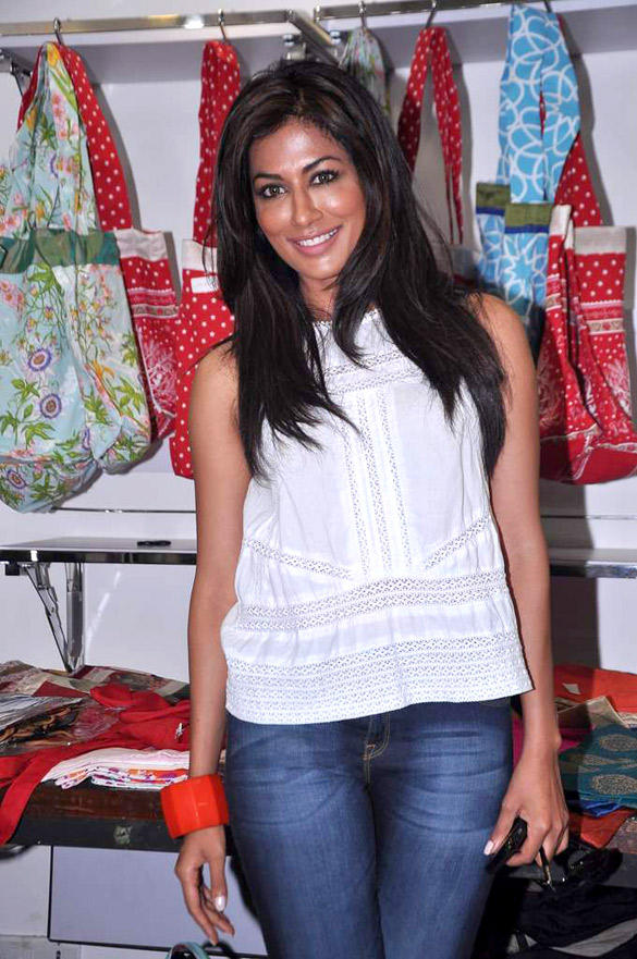 Chitrangada Singh At A Store Launch