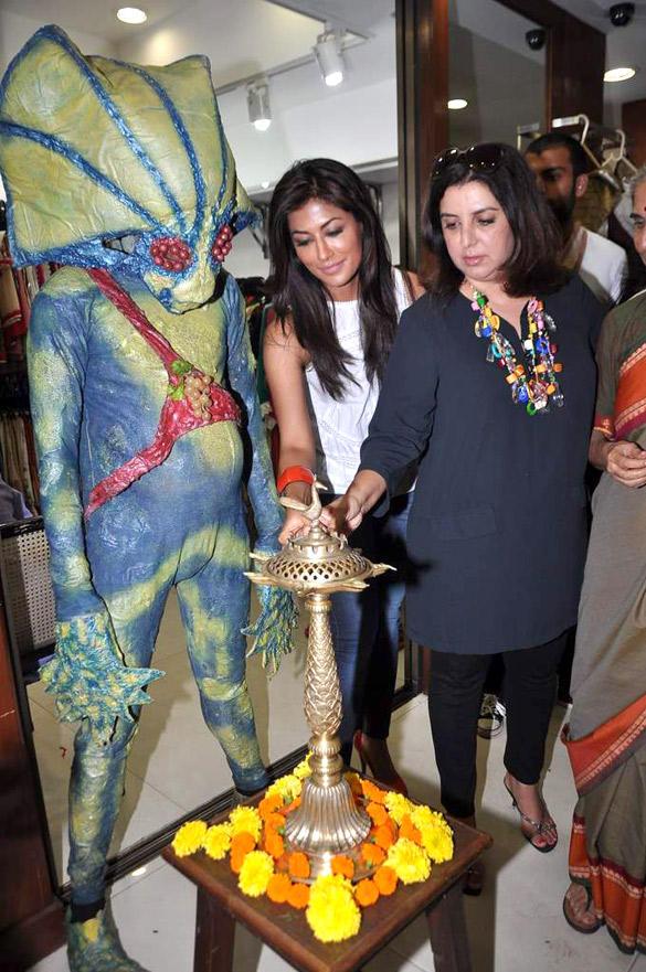 Farah and Chitrangada at A Store Launch Event