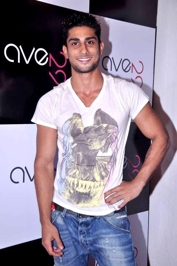 Prateik Babbar at Ave 29 Launch Event