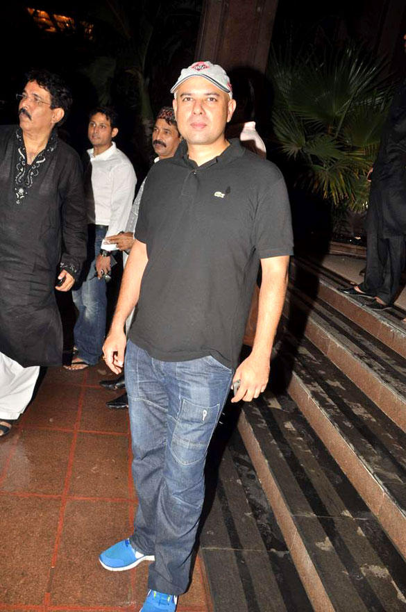Atul Agnihotri at Baba Siddique Iftar Party