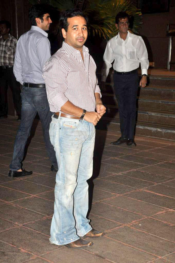 Nitesh Rane at Baba Siddique Iftar Party