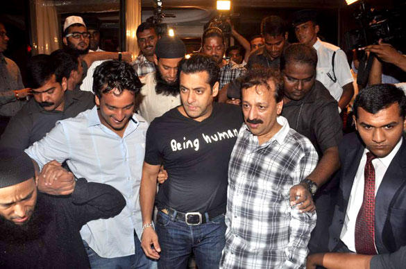 Salman Khan at Baba Siddique Iftar Party