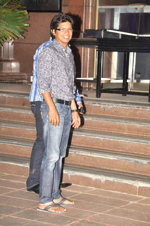 Shaan Spotted at Baba Siddique Iftar Party