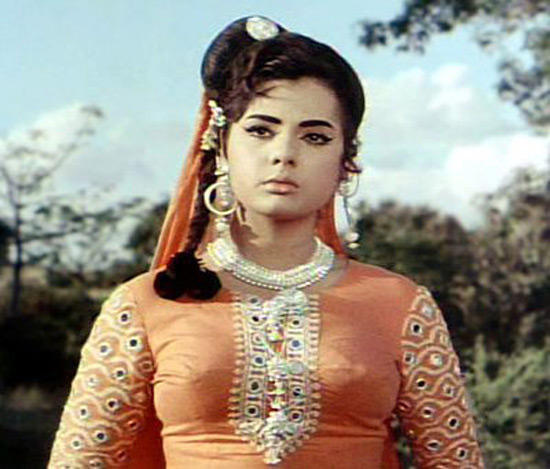 Mumtaz Sad Acting Still In a Film