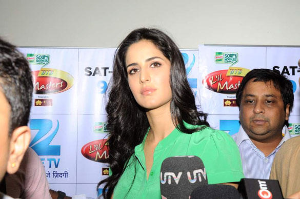 Katrina Kaif on The Sets of DID L'il Masters For Promotion Ek Tha Tiger
