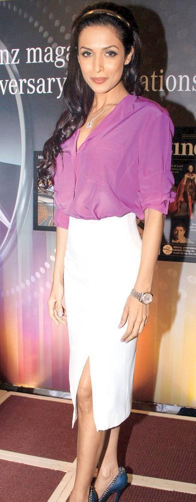 Malaika Arora Khan at The Launch Of Mercedes Benz Magazine
