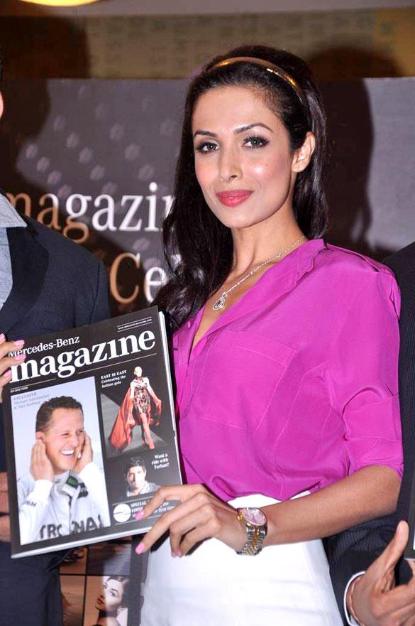 Malaika Arora Launch Mercedes Benz Magazine
