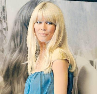 The Beautiful Claudia Schiffer isn't Scared of Creepy Crawlies and Loves Collecting Insects
