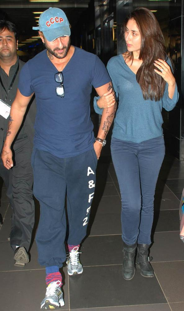 Bollywood Supercouple Were Snapped Together At The Airport