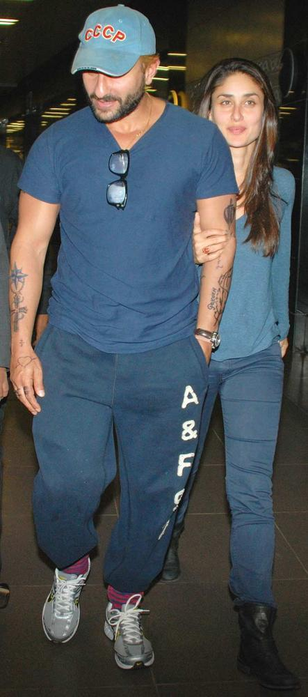 Supercouple Were Snapped Together At The Mumbai Airport