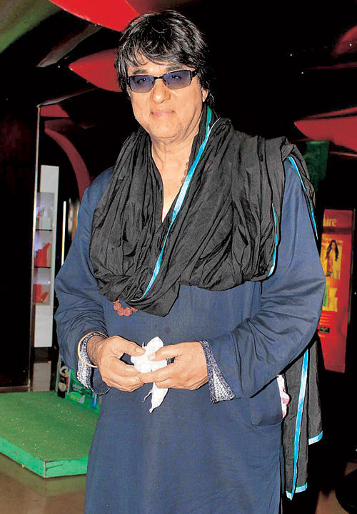 Mukesh Khanna at Special Screening Of Animated Film Krishna And Kans