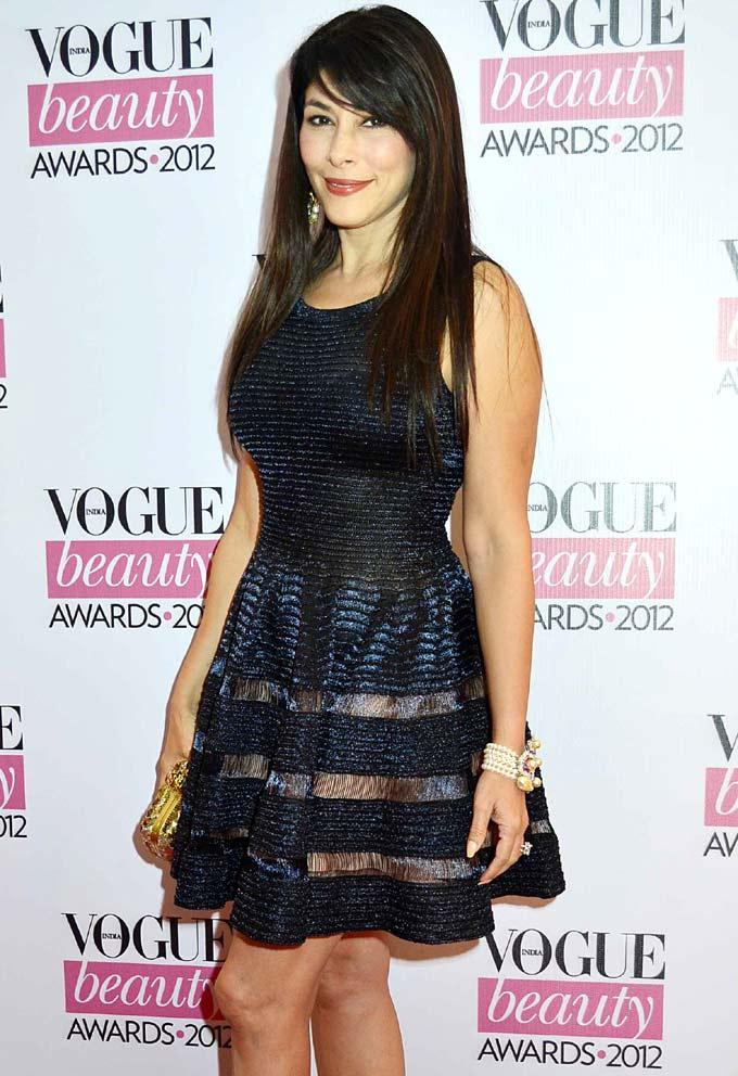 Feroze Gujral Cute Look During Vogue Beauty Awards 2012