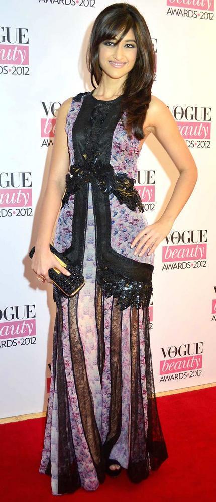 Gorgeous Ileana D'Cruz at Vogue Beauty Awards 2012