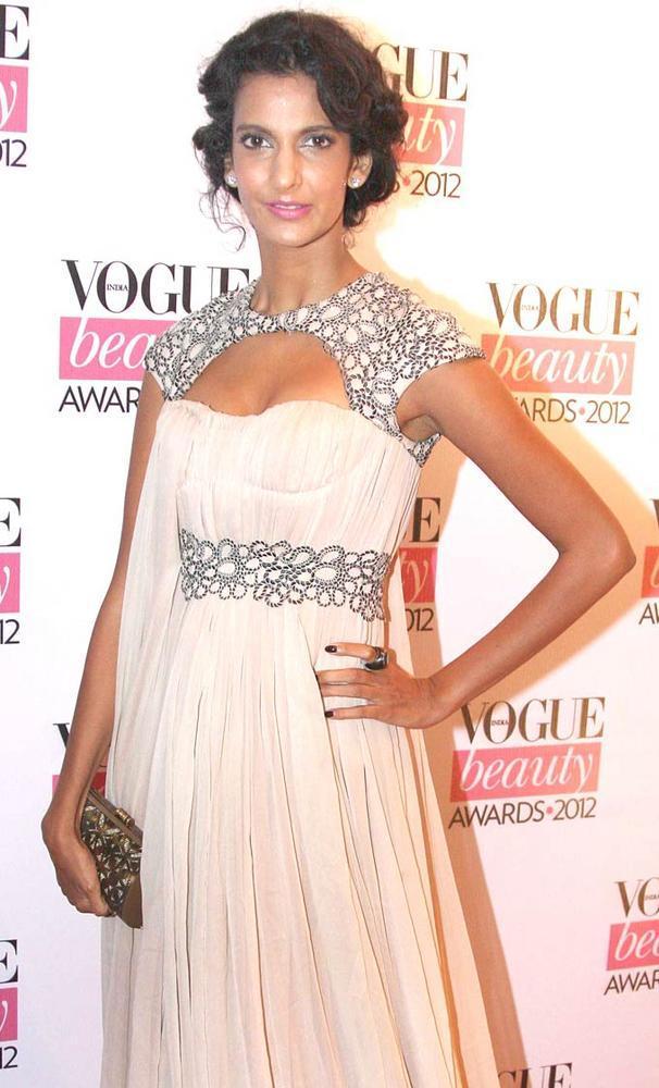Hot Poorna Jagannathan Spotted at Vogue Beauty Awards 2012