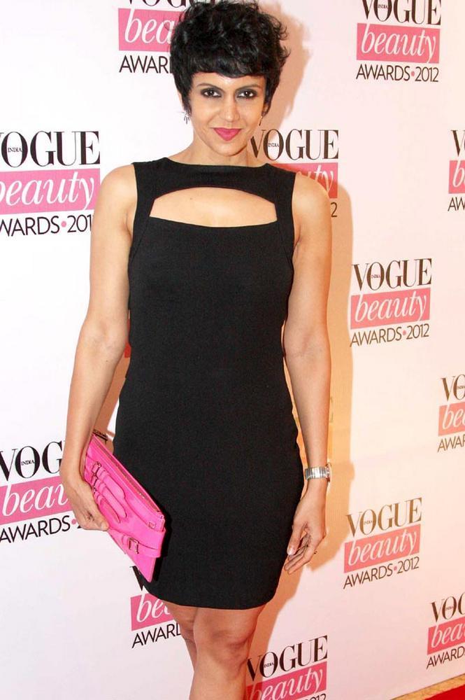 Mandira Bedi in ASOS at Vogue Beauty Awards 2012