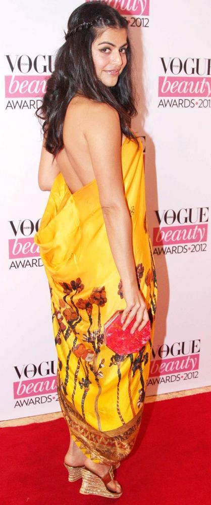Shenaz Treasurywala Pose During Vogue Beauty Awards 2012