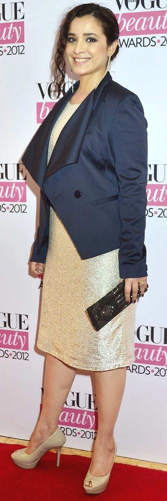 Simone Singh Sweet Smile Pic During Vogue Beauty Awards 2012