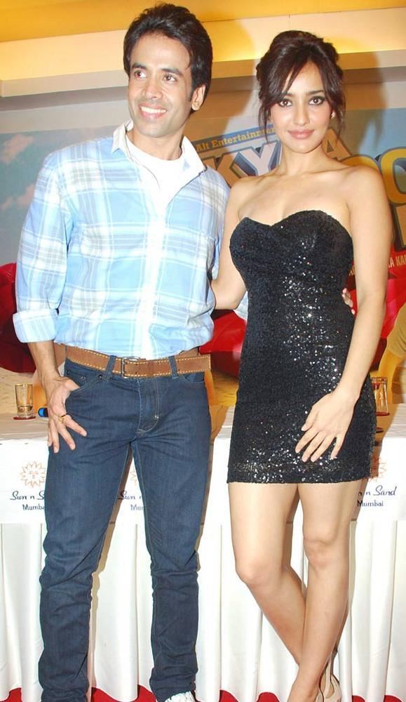 Tusshar and Neha at KSKHH Movie Success Bash