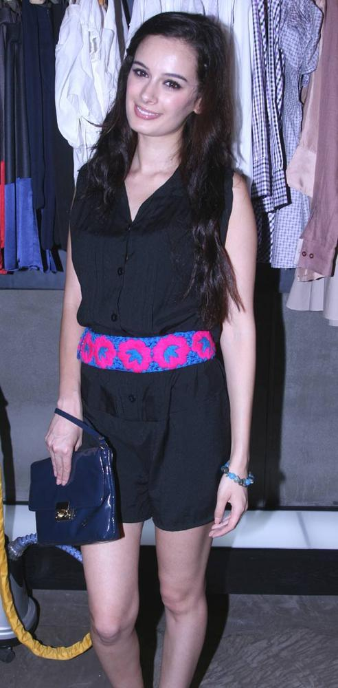 Evelyn Sharma at Launch of Elle August Magazine at Narendra Kumar Store
