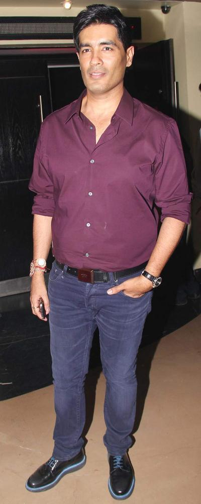 Manish Spotted At Student Of The Year Movie Trailer Launch