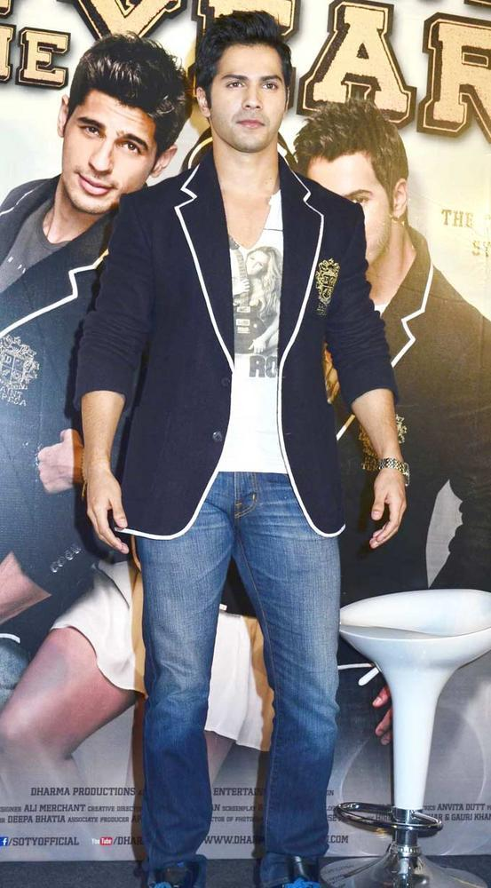 Varun Dhawan at Trailer Launch Of Student Of The Year